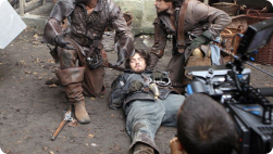 BBC behind the scene on the Musketeers
