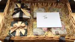 Birthday Hamper packed with goodies!(Photo Fiona Perry)